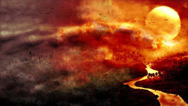Wall Art - Digital Art - Apocalypse Now by Winna Perlin