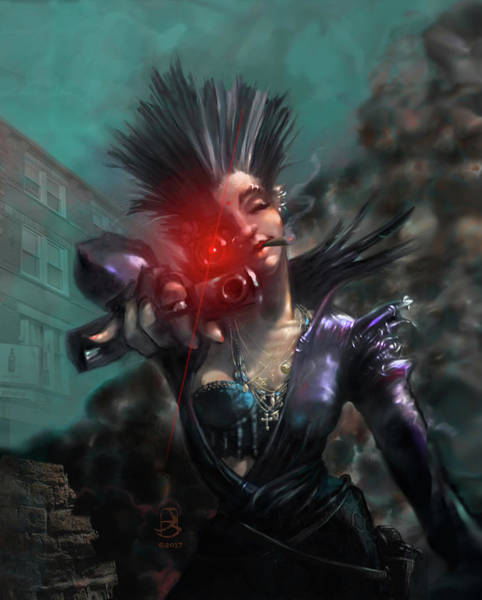 Digital Art - Apocalyptic Lullaby by Jesse Bilyeu