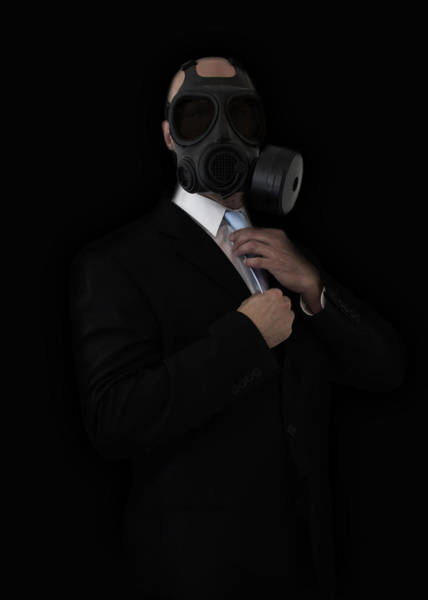 Businessman Photograph - Apocalyptic Style by Nicklas Gustafsson