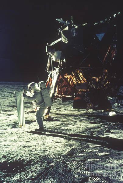 Photograph - Apollo 11: Sun Sheet by Granger