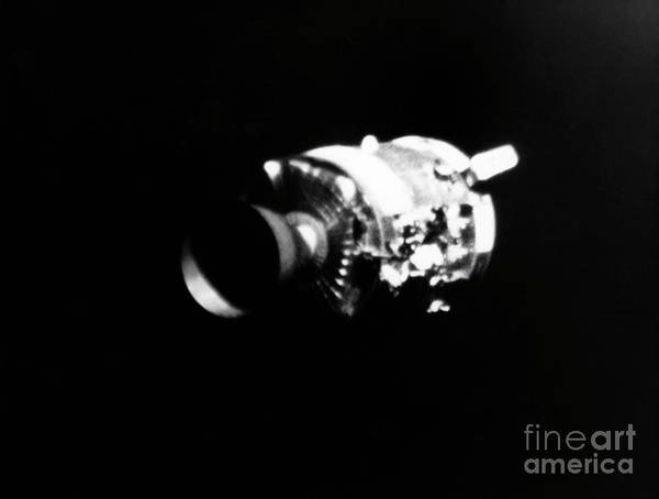 Photograph - Apollo 13, Service Module. by Granger