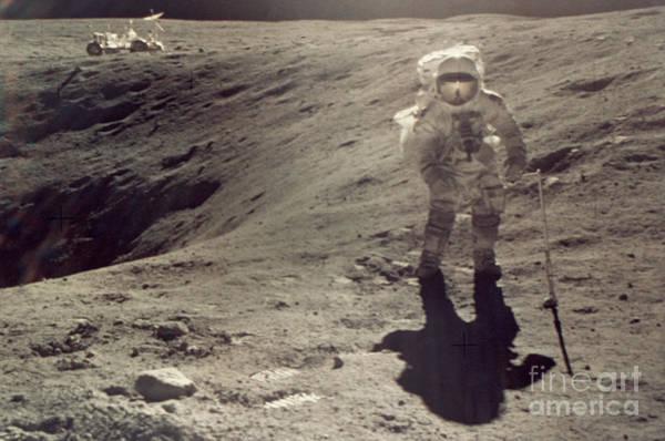 Photograph - Apollo 16 by Granger