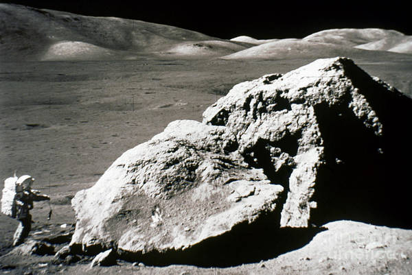 Photograph - Apollo 17, December 1972: by Granger