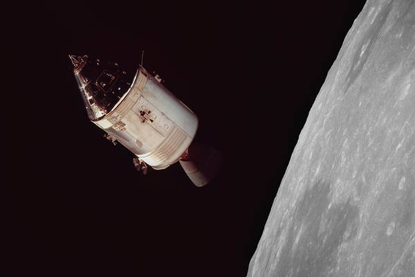 Moon Walk Wall Art - Photograph - Apollo 8 by Peter Chilelli
