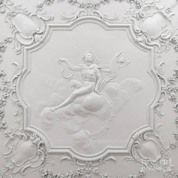 Photograph - Apollo Room Ceiling In The Dublin Castle by RicardMN Photography