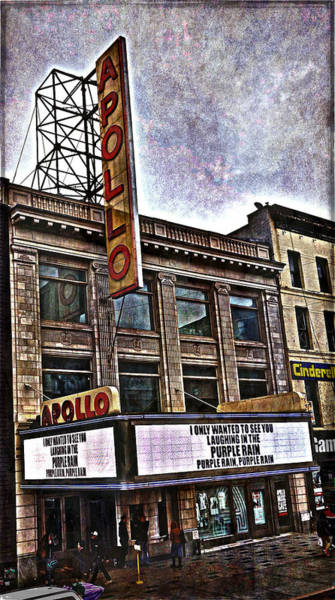 Photograph - Apollo Theatre, Harlem by Joan Reese