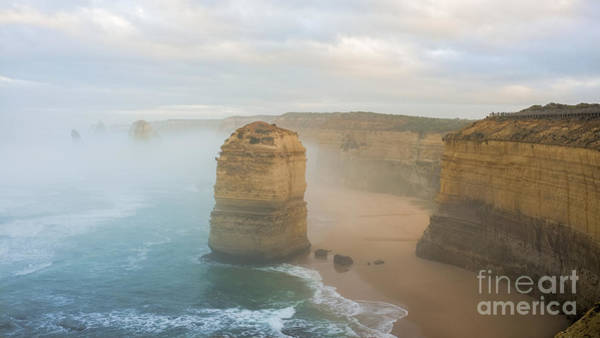 Photograph - Apostles In The Mist by Ray Warren