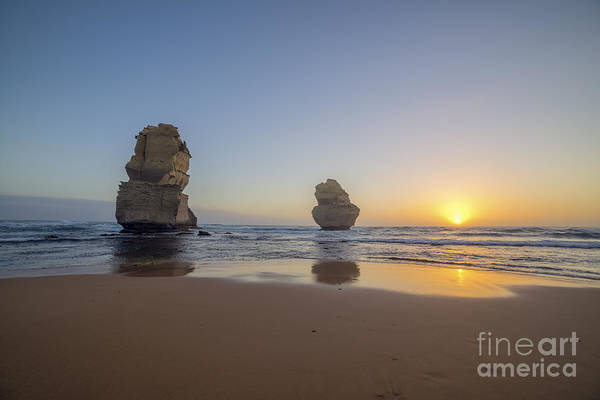 Photograph - Apostles Sunset by Ray Warren
