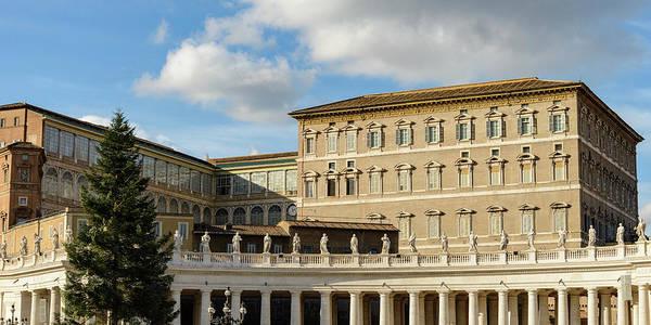Apostolic Palace Photograph - Apostolic Palace. St. Peter's Square. Vatican City by Nicola Simeoni