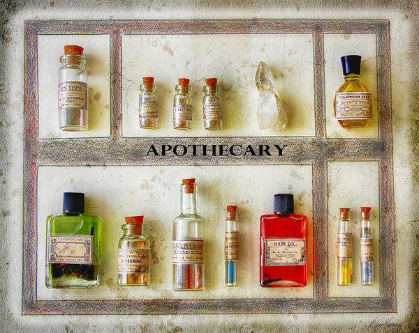 Photograph - Apothecary by Diana Haronis