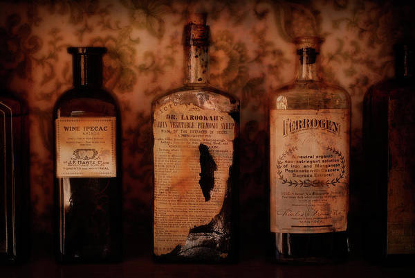 Wall Art - Photograph - Apothecary Medicines by Daniel Hagerman
