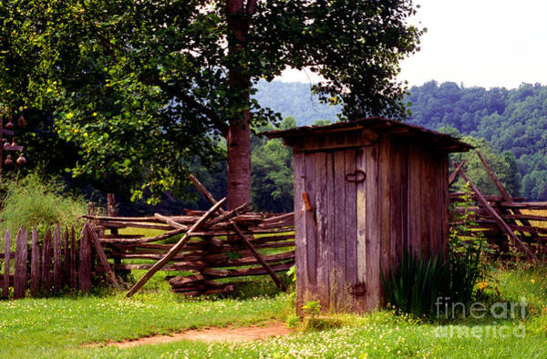 Outhouse Photograph - Appalachian Hill-ton by Paul W Faust -  Impressions of Light