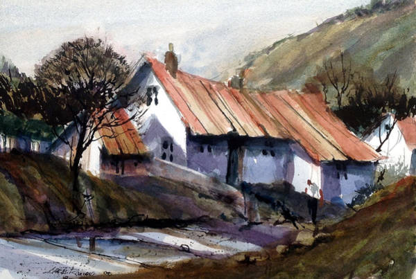 Painting - Appalachian Lane by Charles Rowland
