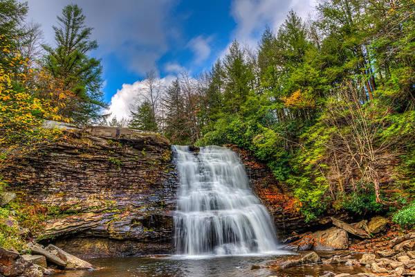 Photograph - Appalachian Mountain Waterfall by Patrick Wolf