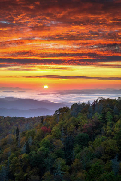 Photograph - Appalachian Mountains Asheville North Carolina Blue Ridge Parkway Nc Scenic Landscape by Dave Allen