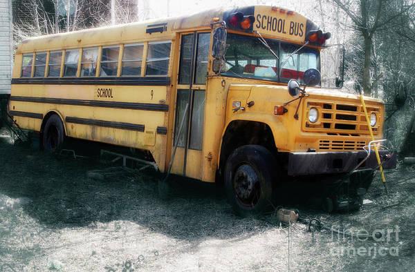 Wall Art - Photograph - Appalachian School Bus  by Steven Digman