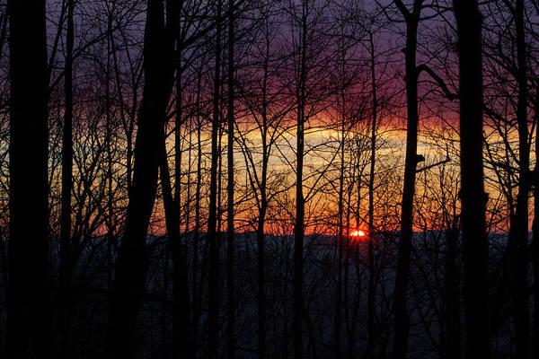 Photograph - Appalachian Sunrise by Paul Rebmann
