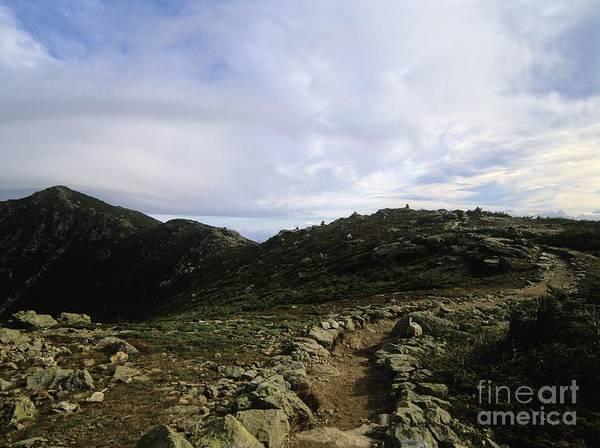 Appalachian Trail - Mount Lincoln - White Mountains New Hampshire Usa Art Print