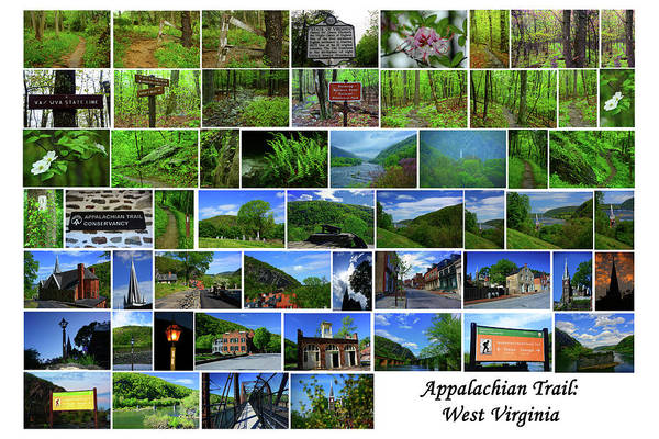Photograph - Appalachian Trail West Virginia by Raymond Salani III
