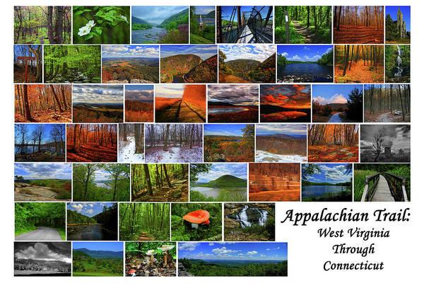 Photograph - Appalachian Trail West Virginia Through Connecticut by Raymond Salani III
