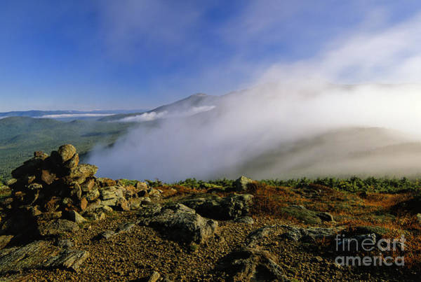 Appalachian Trail - White Mountains New Hampshire Usa Art Print