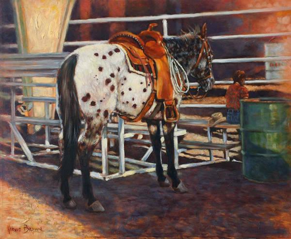 Painting - Appaloosa by Harvie Brown