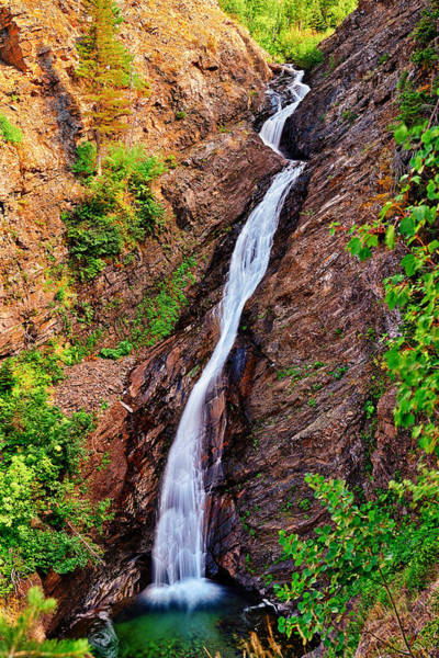 Photograph - Appistoki Falls by Greg Norrell