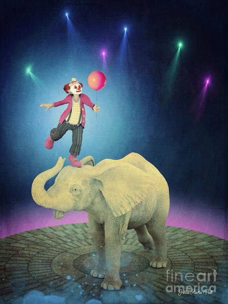 Digital Art - Applause by Jutta Maria Pusl