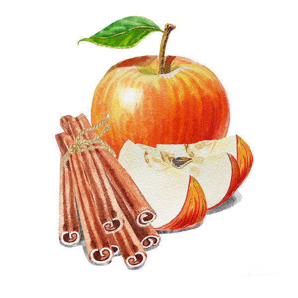 Painting - Apple Cinnamon by Irina Sztukowski