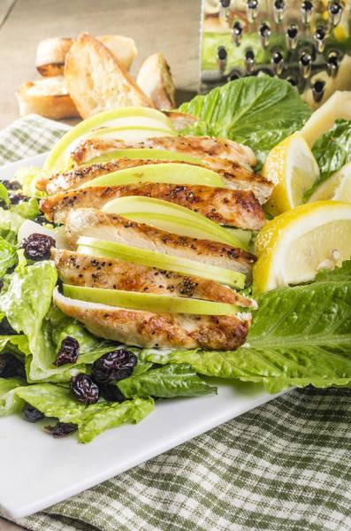Salad Dressing Photograph - Apple Cranberry Chicken Salad by John Trax