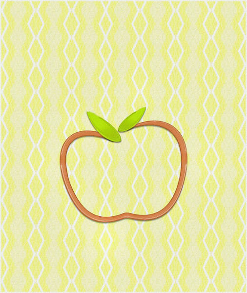 Digital Art - Apple by Patricia Griffin