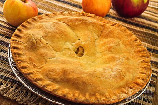 Uncut Photograph - Apple Pie by Elena Elisseeva