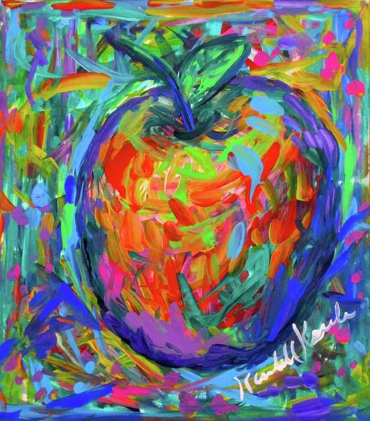 Painting - Apple Splash by Kendall Kessler