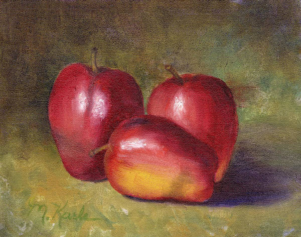 Painting - Apple Still Life by Marsha Karle