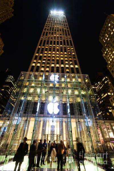 Mac Photograph - Apple Store, New York City by Voisin/Phanie