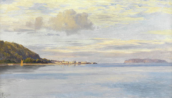 Devon Painting - Appledore, High Tide by Charles Parsons Knight