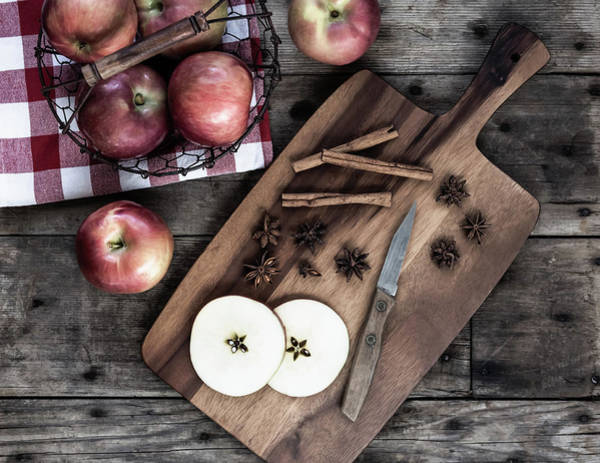 Photograph - Apples And Cinnamon  by Kim Hojnacki
