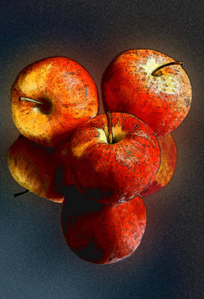 Photograph - Apples And Mirrors by Paul Wear