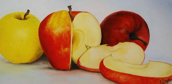 Painting - Apples by Emily Page