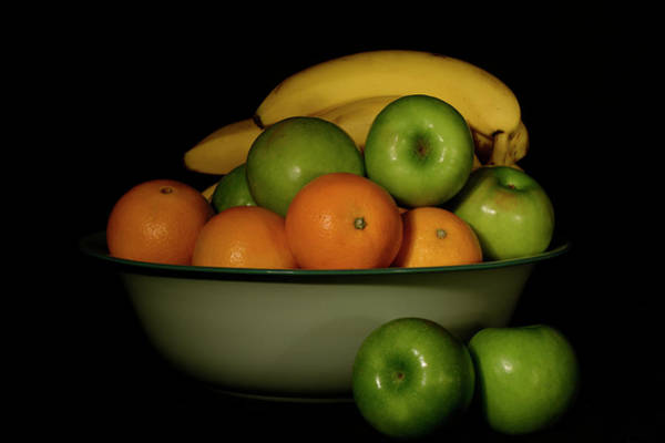 Photograph - Apples, Oranges And Bananas 1 by Angie Tirado