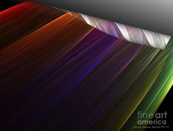 Digital Art - Applying Color by Sandra Bauser Digital Art
