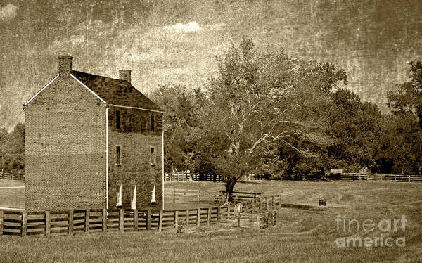 Photograph - Appomattox County Jail by Pete Hellmann