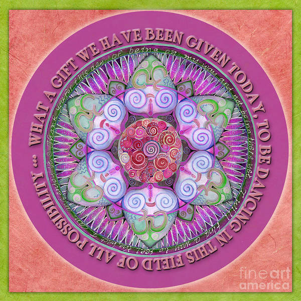 Painting - Appreciation Mandala Prayer by Jo Thomas Blaine