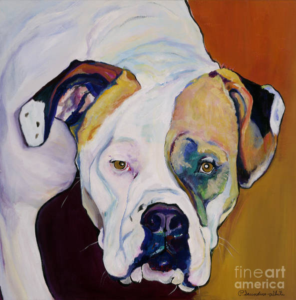 Painting - Apprehension by Pat Saunders-White