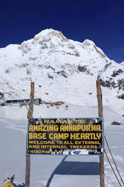 Photograph - Approach To Annapurna South Base Camp by Aidan Moran