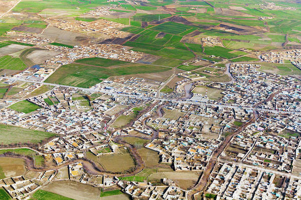Photograph - Approach To Kunduz by SR Green
