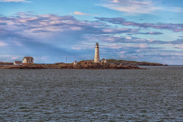Photograph - Approaching Boston Lighthouse by Brian MacLean