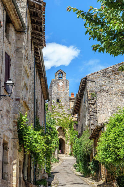 Wall Art - Photograph - Approaching Bruniquel  by W Chris Fooshee