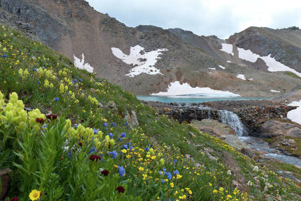 Photograph - Approaching Columbine Lake by Cascade Colors
