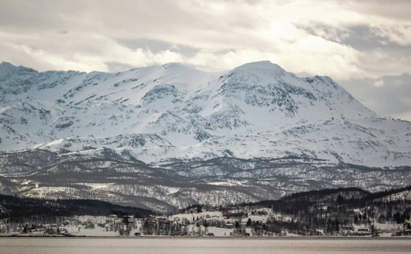 Photograph - Approaching Finnsnes Norway by Adam Rainoff